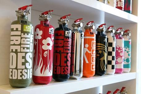 extincteurs fire design