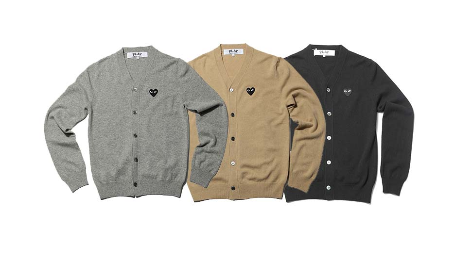 Comme des garcons Play - cardigan collection 2010
