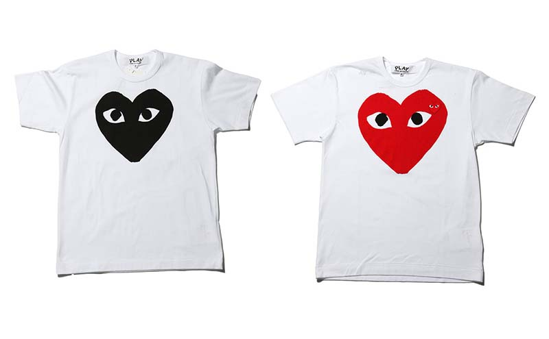 Comme des garcons Play - t-shirt collection 2010