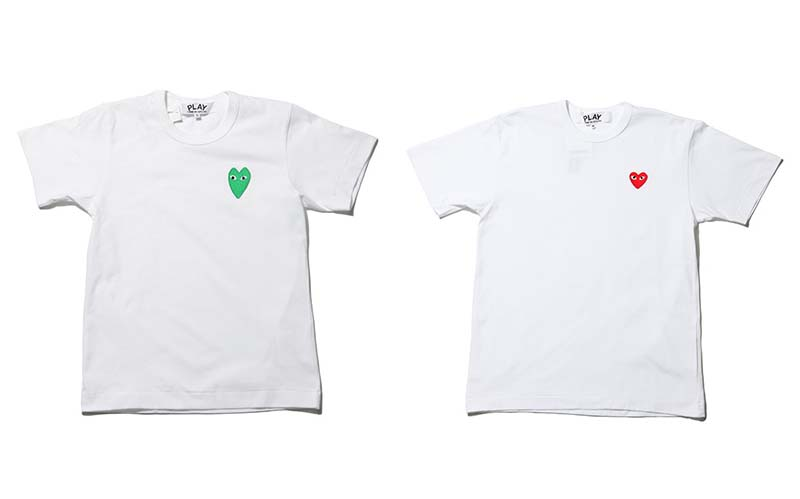 Comme des garcons Play - tshirt collection 2010