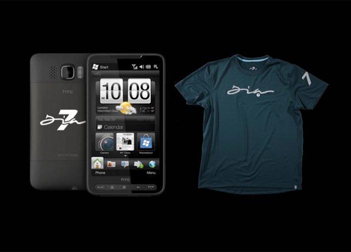 HTC HD2 DIA7 et TSHIRT