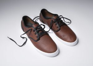 Kr3w Grant Low Brown Leather