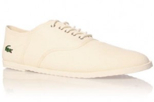 Chaussures Lacoste Ronne blanc