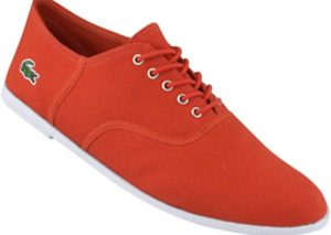 Chaussures Lacoste Ronne rouge 2010