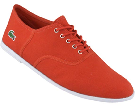Lacoste Ronne rouge 2010