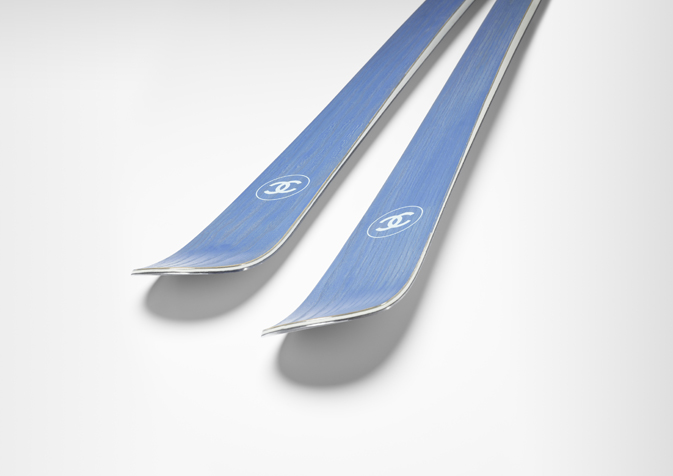 Skis Chanel pour la collection 2010/2011