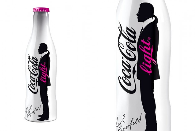 Bouteille Karl Lagerfeld Coca Cola Light 2010