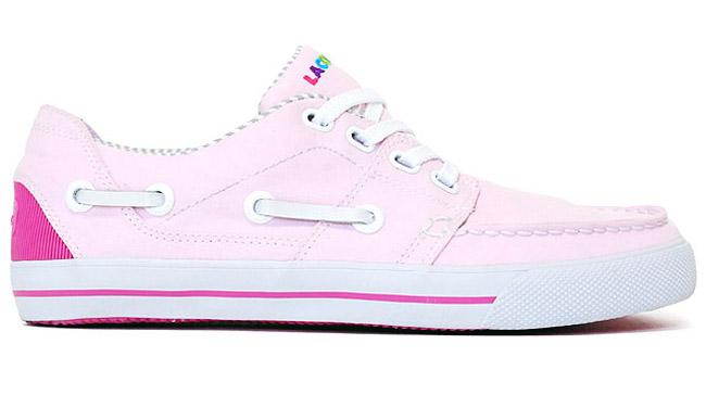 atmos x lacoste cabstan vulc pink