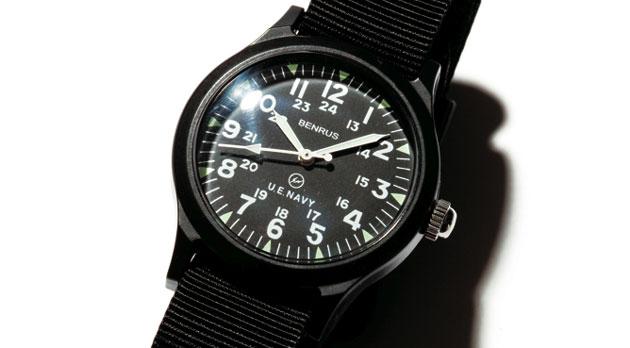 uniform-experiment-benrus-military-watch