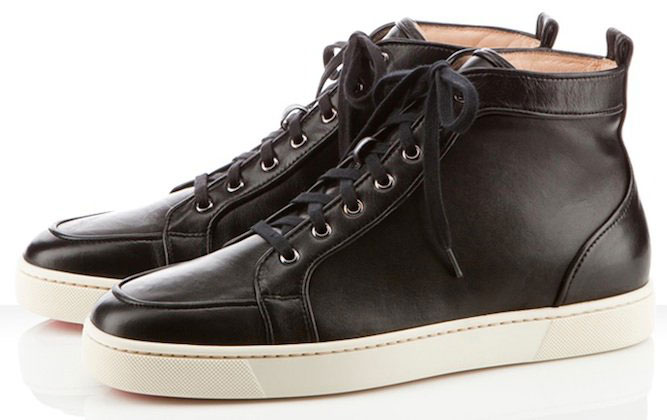 Christian-Louboutin-Rantus-Orlato-Black-Leather-Sneakers