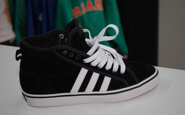 Adidas Nizza Hi 2011 suede noir