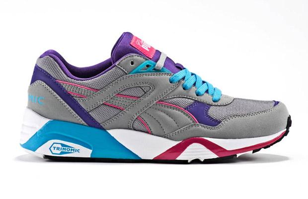 Classic Kicks x Puma R698 Grey/Pink/Teal/Purple