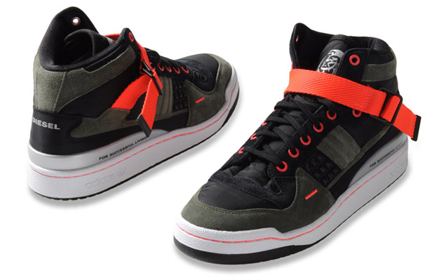 Diesel x adidas Originals Forum Mid 2011