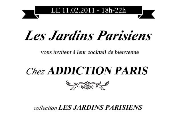 Cocktail de Bienvenue par Les Jardins Parisiens