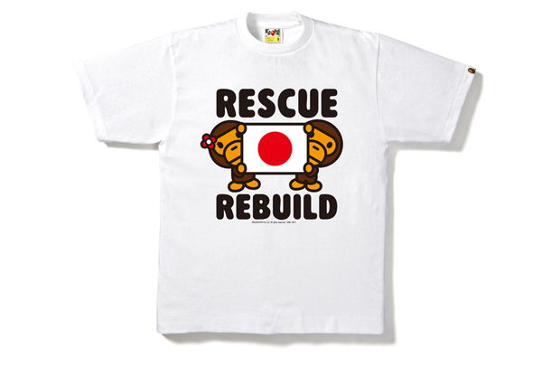 Bape - Japan Charity T-Shirts Women