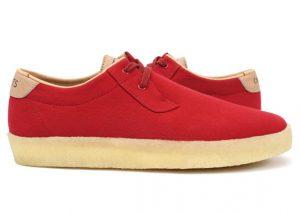 Concepts x Clarks Originals Ashcott rouge/red