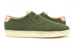 Concepts x Clarks Originals Ashcott vert/green