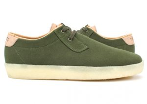 Concepts x Clarks Originals Ashcott vert/green