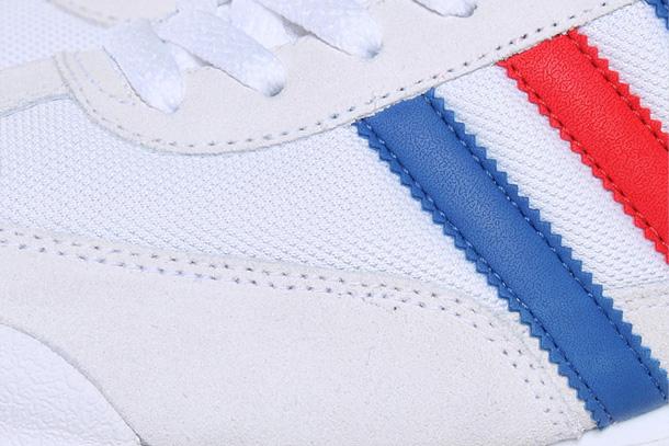 adidas bande bleu blanc rouge