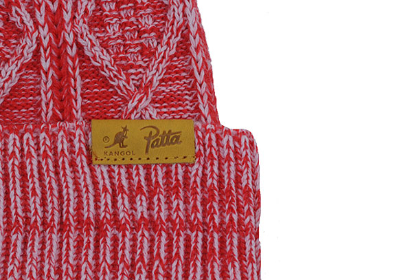 Bonnet Kangol x Patta Cable Knit Beanie