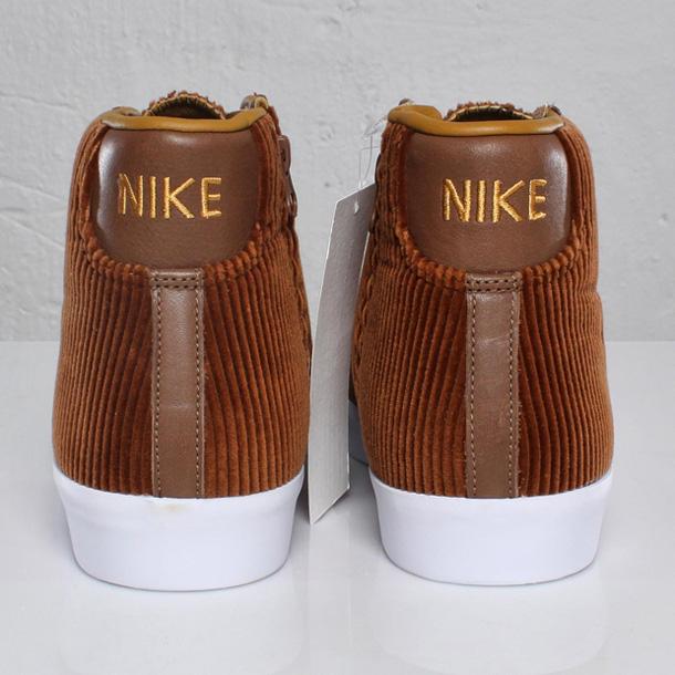 Nike Blazer Mid AB TZ x Maharam Brown Velvet