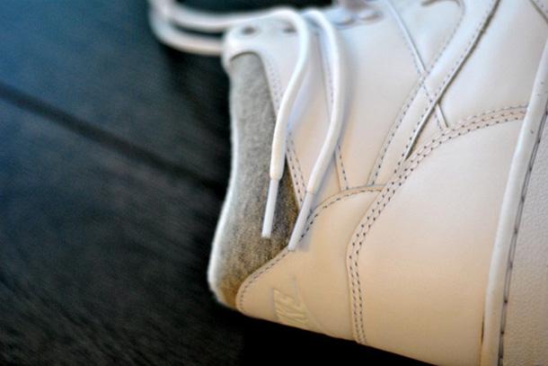 Nike Sky Force 88 Mid White/Heather Grey