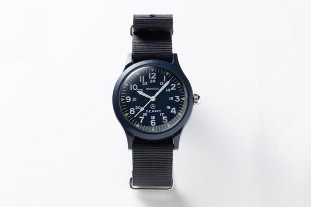 SOPHNET x Benrus x uniform experiment Military Watch