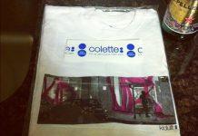 T-shirt Kidult x colette