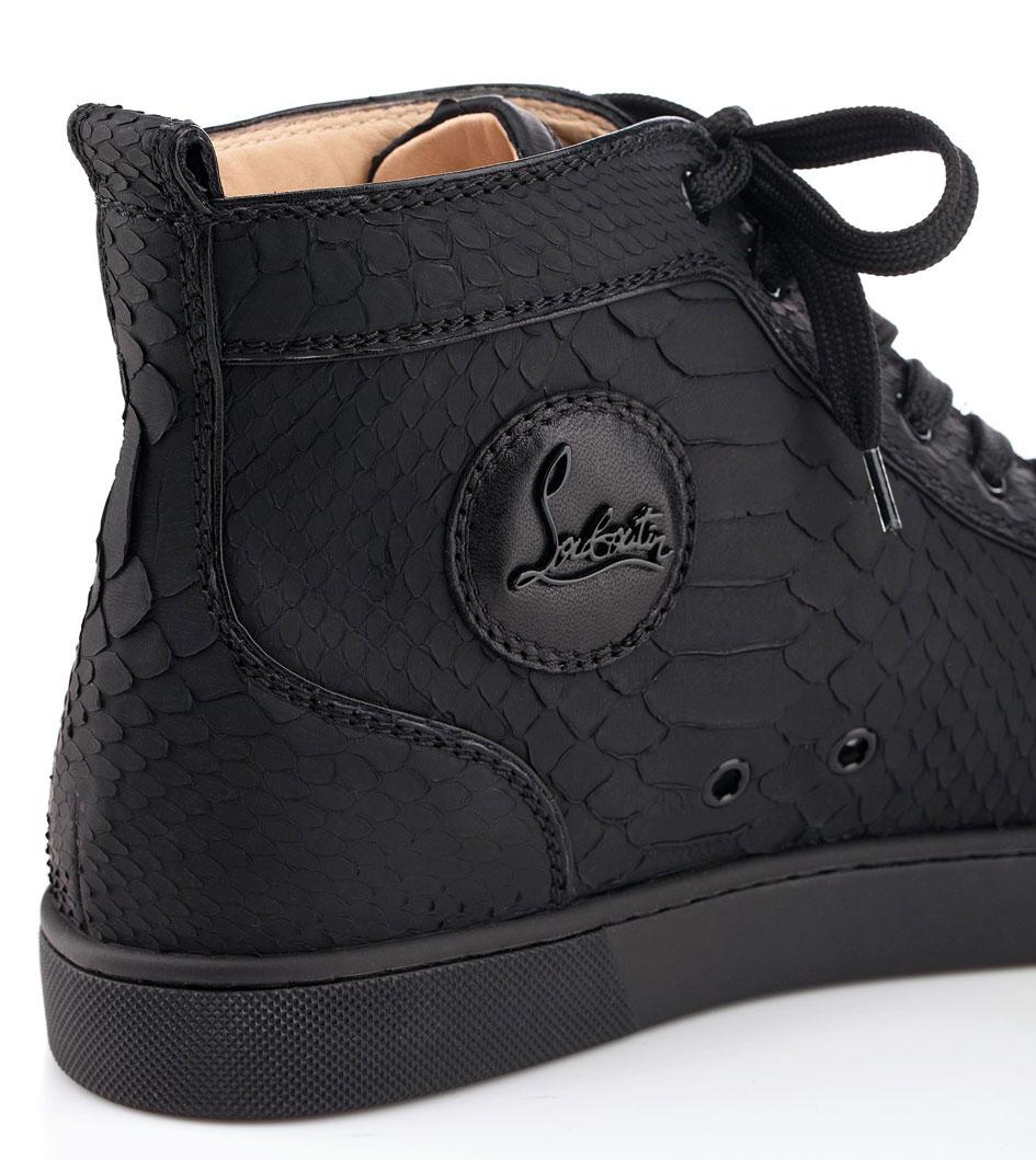 louboutin sneakers homme noir
