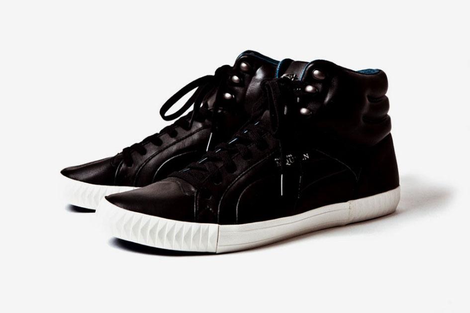 Alexander McQueen x PUMA Street Climb Mid Leather Printemps 2012 (Alexandre Hoang)