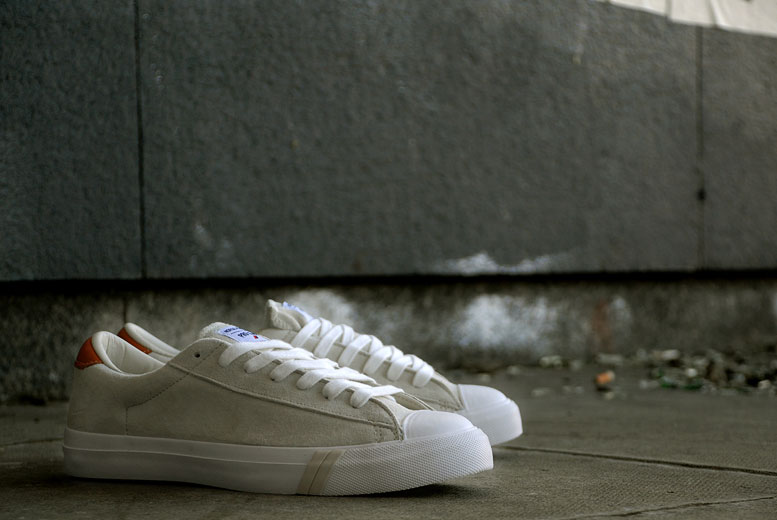Norse Projects X PRO-Keds Royal Master Suede Blanc
