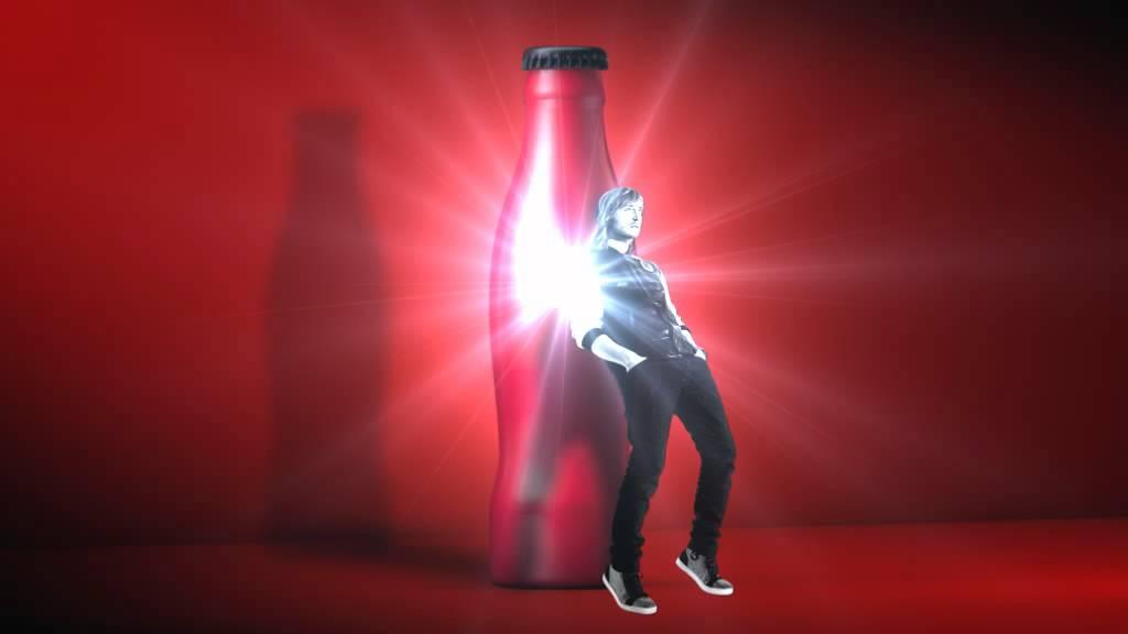Bouteille Coca-Cola x David Guetta (Alexandre Hoang)