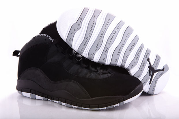 Air Jordan 10 (X) Stealth/Black