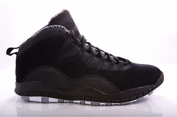 Air Jordan 10 (X) Black/Stealth White