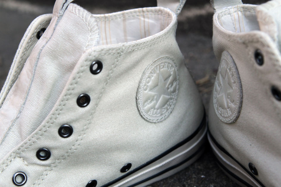 John Varvatos x Converse All Star Laceless Hi White
