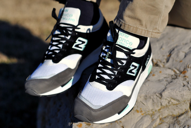 New Balance 1500 Made in UK–Gris Noir Turquoise