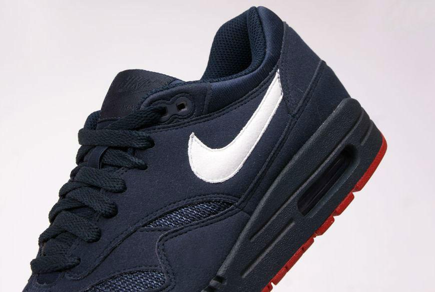 Nike Air Max 1 Obsidian/White/Red
