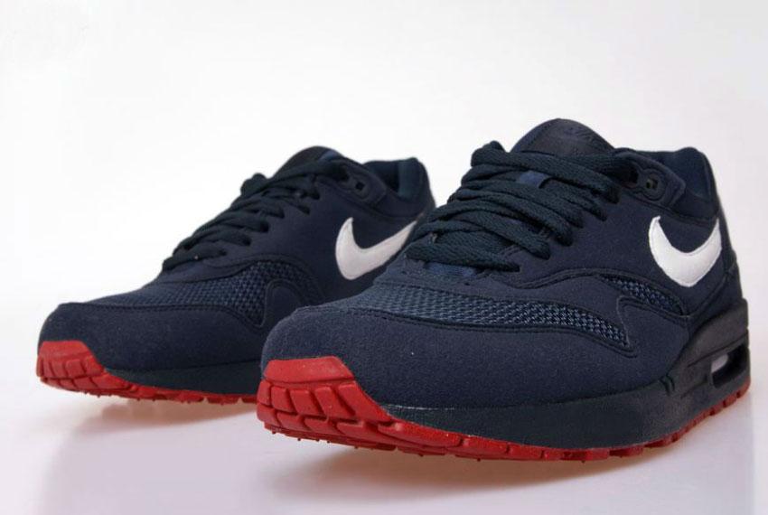 Nike Air Max 1 Obsidian/White/University Red