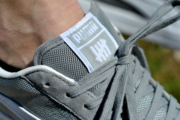 Undefeated x Puma Clyde Grey