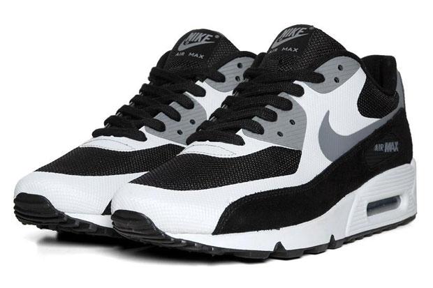 Nike Air Max 90 Premium - Black/Cool Grey