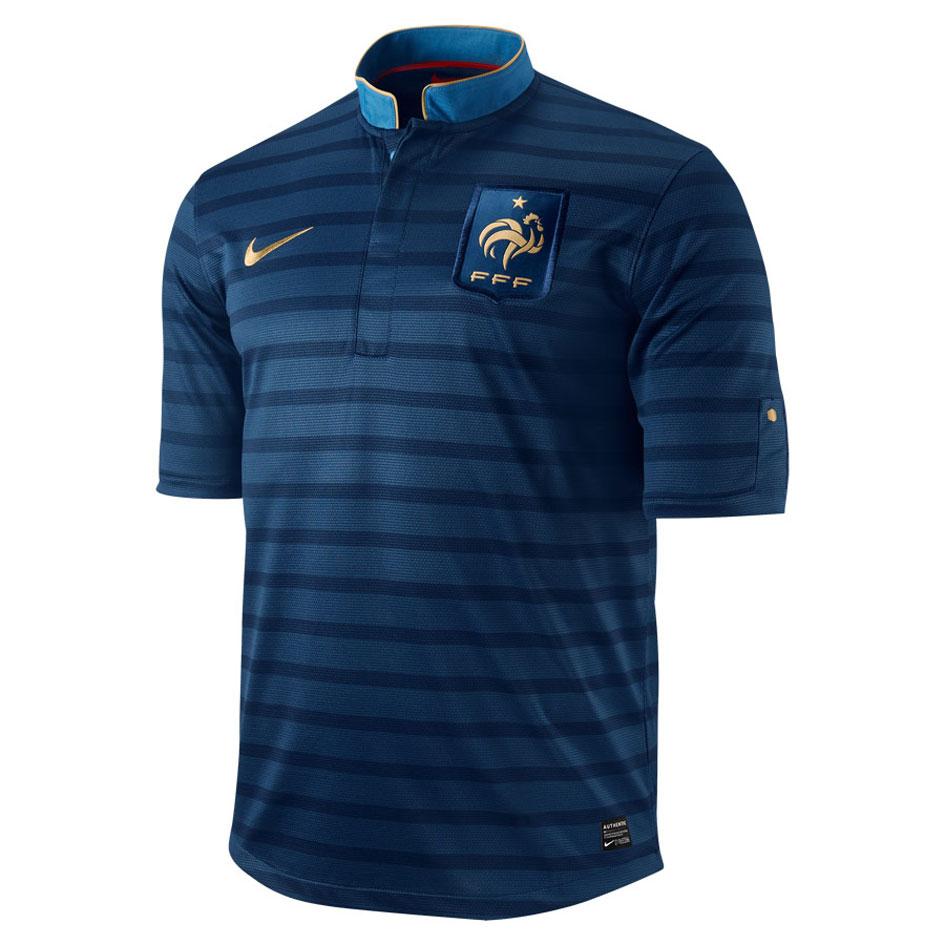 Nouveau maillot Domicile 2012 Équipe de France