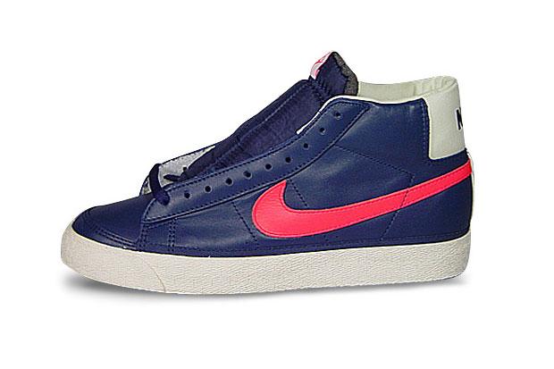 Stussy x Nike Blazer Blue/Red