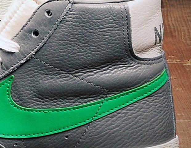 Stussy x Nike Blazer Retro 2012 Grey/Green (size?) (Alexandre Hoang)