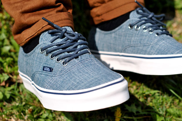 Vans Authentic Chambray Blue - Printemps 2012