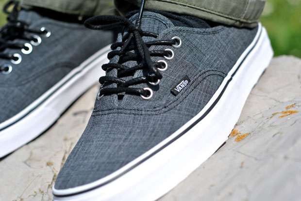 Vans Authentic Chambray Grey - Printemps 2012