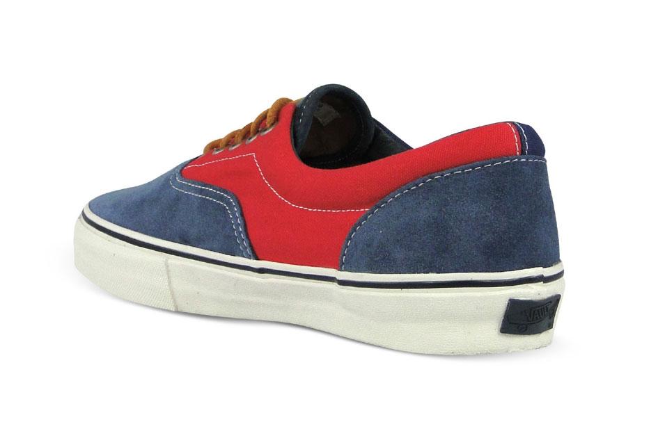 Vans Vault Era LX Bleu/Rouge Suede/Canvas
