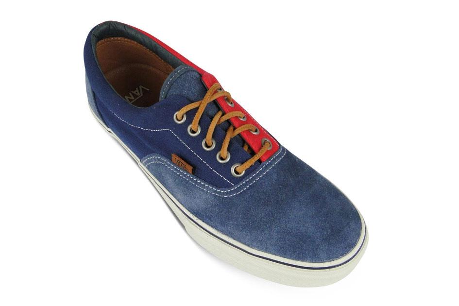 Vans Vault Era LX Bleu/Rouge Suede/Twill Canvas