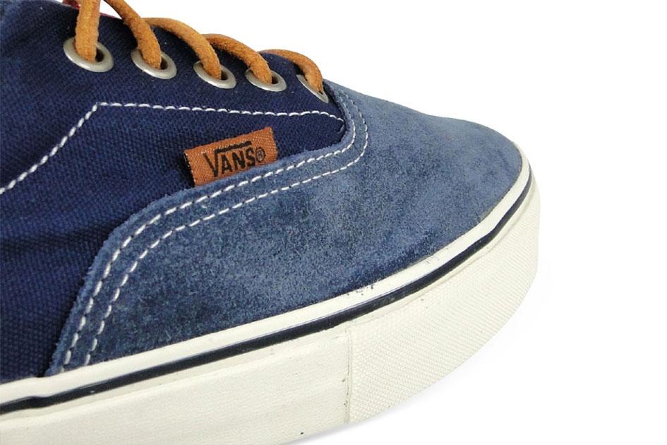 Vans Vault Era LX Blue/Red Suede/Twill Canvas