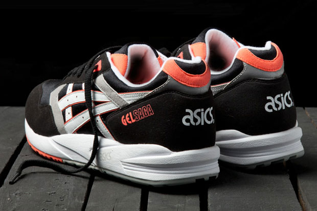 ASICS Gel Saga (Orange Blaze)-5