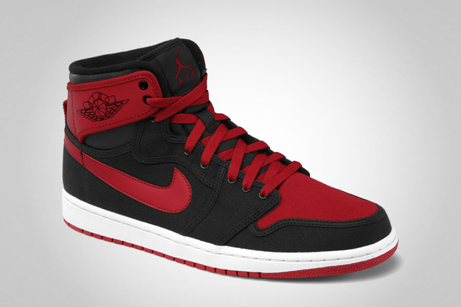 Air Jordan 1 KO - Black/Varsity Red/White-2